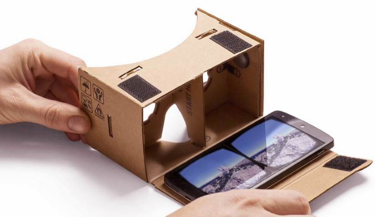 Virtual Reality Map Explorer was built using Google Cardboard for Android phones